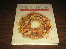 The Wreath Book  1988 Hard Cover & Original Dust Jacket & Protective Cover