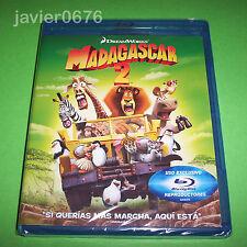 MADAGASCAR 2 DREAMWORKS BLU-RAY NUEVO Y PRECINTADO