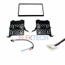 Radio Replacement Dash Mount Kit 2-Din w/Harness/Antenna for Nissan/Suzuki
