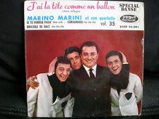 VINYL 45 T 60'S ROCK – MARINO MARINI QUARTETTE : TETE COMME UN BALLON + 3 – VOGU