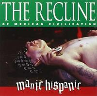 MANIC HISPANIC-THE RECLINE OF MEXICAN CIVILIZATION (RED VINYL) NEW VINYL RECORD