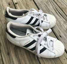 Adidas Superstar Original Athletic Shell Top Toe Shoes Sneakers Striped Men's 6