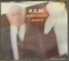 R.E.M. Everybody Hurts CDSingle 4 track Mandolin Strum CHANGE Dark Globe REM