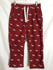 Abercrombie Red Pants Size L Sleepwear Drawstring #PB6
