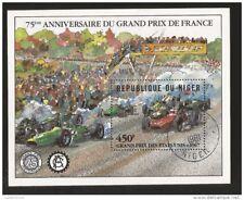NIGER Bloc ob NIAMEY 1981 450F 75ème anniv. GRAND PRIX F1 France USA 1967 Dunlop