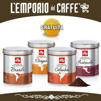 ILLY Caffè Macinato Moka 1 Kg (8 x 125 g) Arabica Selection - Gusti a scelta