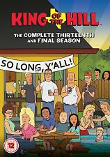 King Of The Hill: The Complete Season 13 - DVD NEW & SEALED (3 Disc) UK Edition!