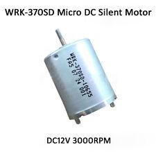 2Pcs New DC12V WRK-370SD Micro DC Silent Motor 3000RPM High Torque For DIY