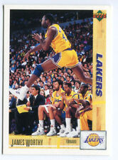 1993 Upper Deck French McDonald's #40 James Worthy Lakers carte NBA Basketball