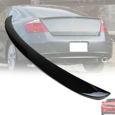 Painted For HONDA Accord Coupe 2DR OE Type Trunk Boot Spoiler Rear ABS 08-12
