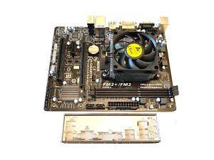 Gigabyte F2A78M-DS2 AMD Socket FM2+ Micro ATX USB 3.0 Motherboard + A8-7600 CPU