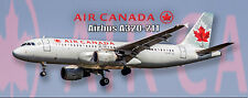 Air Canada Airlines Airbus A320 Photo Magnet (PMT1501)