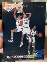 1992 - 1993 Upper Deck Shaquille O'Neal Orlando Magic #1B Basketball Card