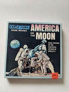Castle Films America On The Moon – Super 8mm Color Movie & Box APOLLO 11