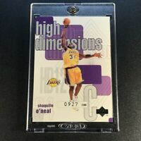 SHAQUILLE O'NEAL SHAQ 1997 UPPER DECK #HD12 HIGH DIMENSIONS INSERT /2000 LAKERS