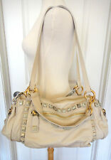 Marc Jacobs Bisque Debbie Sweet Punk Chipped Studs Tote/Purse~ONE OF A KIND~NWT~