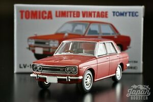 [TOMICA LIMITED VINTAGE LV-168a 1/64] DATSUN BLUEBIRD 1600 SSS (Red)