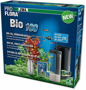 JBL ProFlora Bio160 - co2 System pro flora carbon aquarium fertiliser bio 160
