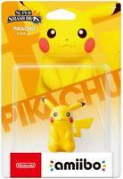 Nintendo Pikachu Amiibo - Super Smash Bros - Brand New - Free Shipping!
