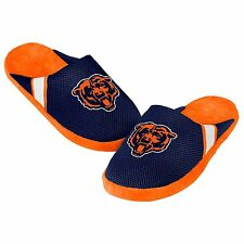 Chicago Bears Youth Jersey Mesh SLIDE SLIPPERS New - FREE U.S.A. SHIPPING