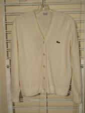 Vintage 60s 70s Haymaker Cardigan Sweater Izod Lacosta Alligater Logo sz M ?