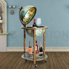 Antique Globe Bar Cabinet Deluxe Handcrafted Globe Wine Rack Mini Drinks Trolley