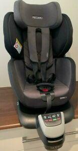 Baby Toddler Car Seat Recaro Zero.1 Group 0/1 Isofix Rear Facing 360° rotation