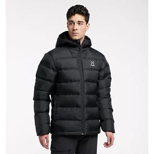 Haglofs Bield Down Hooded Jacket Men - Black