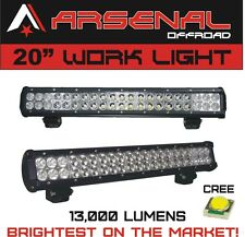 """#1 20"""" Dual Row High Power 126w Cree Xb-d SMD Work Light Bar by Arsenal Offroad"""