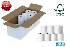 More details for paper rolls sharp el1607p printing audit calculator 1 ply 57 x 57mm by smco