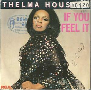 45 RPM 2 Títulos/Thelma Houston If You Feel It B4