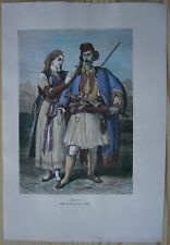 1875 Reclus print ALBANIANS (#14)