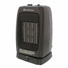 Comfort Zone Cz448 Oscillating Ceramic Space Portable Heater