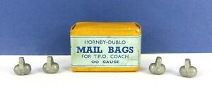 4 X HORNBY DUBLO MAIL BAGS FOR T.P.O COACH ( BOXED