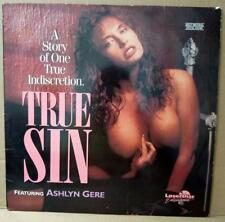 English Movie True Sin Ashlyn Gere Sexy Lady Cheesecake USA Laserdisc LD1110R