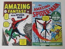AMAZING SPIDERMAN # 1-38 FANTASY # 15 + KSA cplt. Steve Ditko run ! set of 42 NM