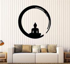 Buddha Zen Enso Yoga Indien Krishna Wandtattoo Wallpaper Wand Schmuck 57 x 57