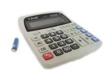 Calcolatrice Elettronica Linq LI-K888 con Display 12 Cifre Solare e Batterie