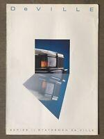 1984 Holden Series II Statesman De Ville original Australian sales brochure