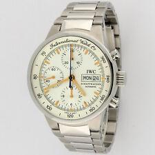 IWC Schaffhausen GST Chronograph IW370713 Automatic Mens Watch SS 40mm
