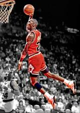 Michael Jordan Chicago Bulls Art Print Photo Picture Poster A3 A4