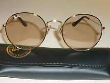 52[]21mm VINTAGE B&L RAY BAN BROWN CHANGEABLES TORTUGA ROUND AVIATOR SUNGLASSES