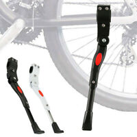 New Adjustable MTB Bike Middle Prop Kick Stands Bicycle Cycle Brace Side Support