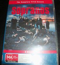 The Sopranos The Complete Fifth Season 5 (Australia Region 4) DVD – New