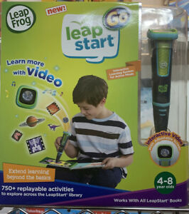 LeapFrog LeapStart Go System, Charcoal and Green, Learning Toy, Free Ship, New