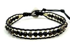 Handmade Leather Beaded Fashion Bracelets