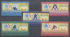 JO LOS ANGELES Pakistan 5 val de 1984 ** BOXE LUTTE ATHLETISME OLYMPICS