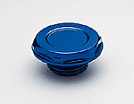 MR GASKET Engine Oil Filler Cap, Billet Aluminium Blue Anodised, Toyota Camry.