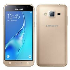 Samsung Galaxy J3 Sim Free SM-J320F 8GB Android Unlocked Smartphone Gold