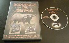 Boddington On Buffalo (DVD) Craig African Cape safari hunting outdoor sports